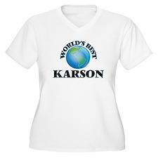 World's Best Karson Plus Size T-Shirt