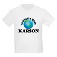 World's Best Karson T-Shirt