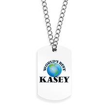 World's Best Kasey Dog Tags