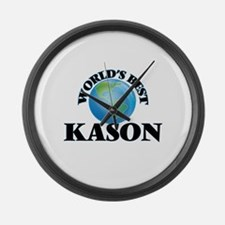 World's Best Kason Large Wall Clock