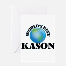 World's Best Kason Greeting Cards