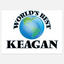 World's Best Keagan Invitations