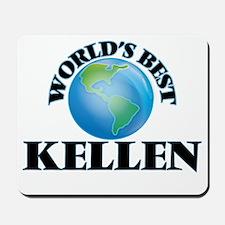 World's Best Kellen Mousepad