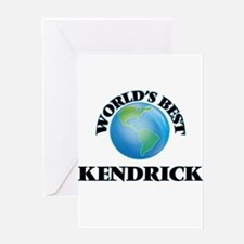 World's Best Kendrick Greeting Cards