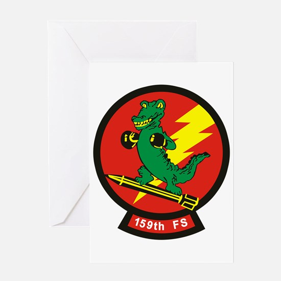 159_fs_Fightr_squadron Greeting Cards