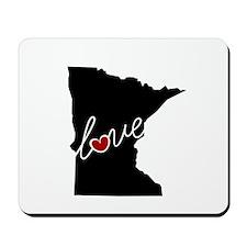 Minnesota Love Mousepad