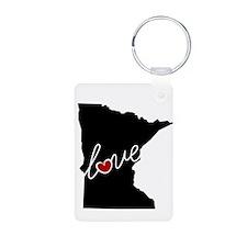 Minnesota Love Keychains