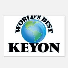 World's Best Keyon Postcards (Package of 8)