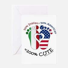 Italian American Baby Greeting Cards