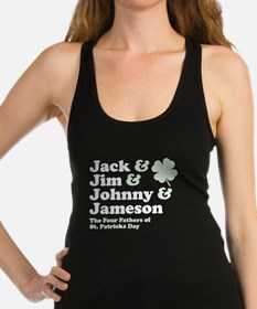 Jack Jim Johnny & Jameson Racerback Tank Top