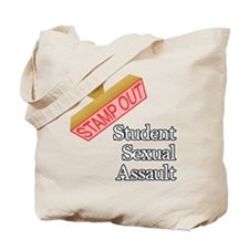 Student Sexual Assault Tote Bag