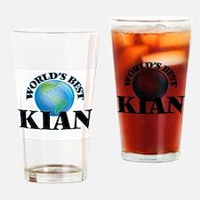 World's Best Kian Drinking Glass