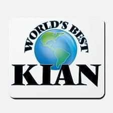 World's Best Kian Mousepad