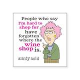Aunty Bumper Stickers
