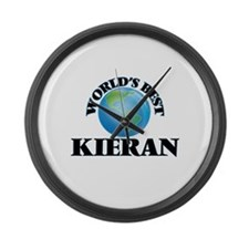 World's Best Kieran Large Wall Clock