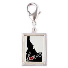 Idaho Love Silver Portrait Charm
