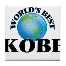 World's Best Kobe Tile Coaster