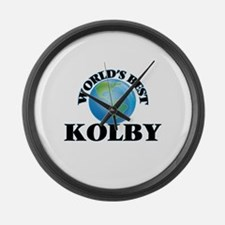World's Best Kolby Large Wall Clock