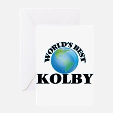 World's Best Kolby Greeting Cards