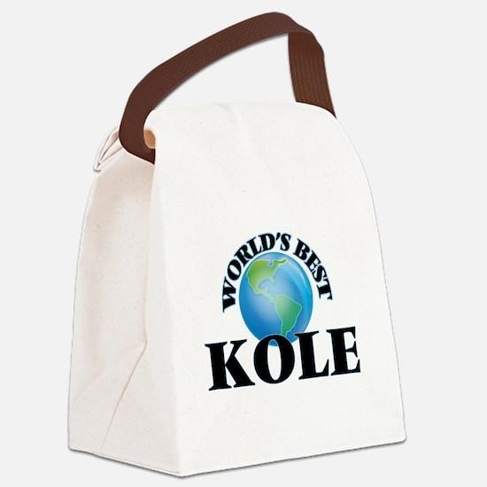 World's Best Kole Canvas Lunch Bag