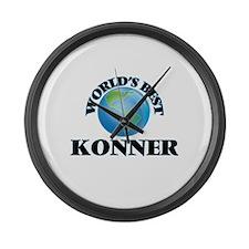 World's Best Konner Large Wall Clock