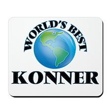 World's Best Konner Mousepad