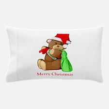 Santa Bear Pillow Case