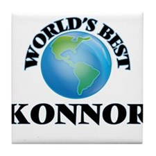 World's Best Konnor Tile Coaster