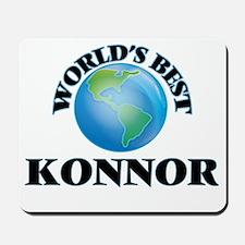 World's Best Konnor Mousepad