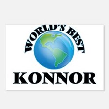 World's Best Konnor Postcards (Package of 8)