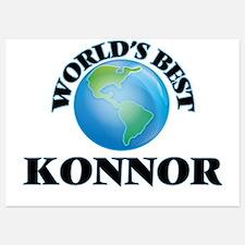 World's Best Konnor Invitations