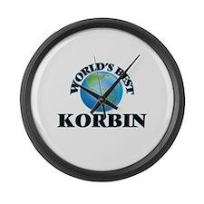 World's Best Korbin Large Wall Clock