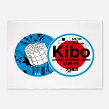 Kibo STS-123 5'x7'Area Rug