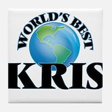 World's Best Kris Tile Coaster