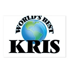 World's Best Kris Postcards (Package of 8)