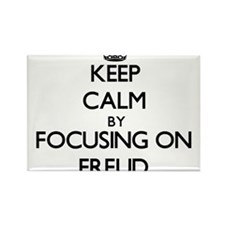 Keep Calm by focusing on Freud Magnets