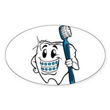 Brush Your Teeth Decal