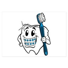 Brush Your Teeth Invitations