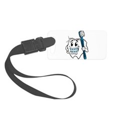 Brush Your Teeth Luggage Tag
