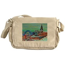 St Mary's and the Tyne Bridge in win Messenger Bag