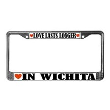 Wichita Kansas License Plate Frame