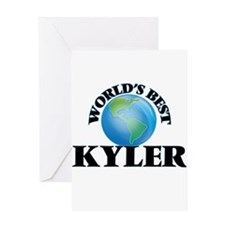 World's Best Kyler Greeting Cards