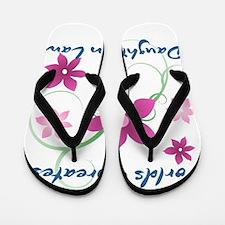 World's Greatest Daughter-In-Law (Flowe Flip Flops