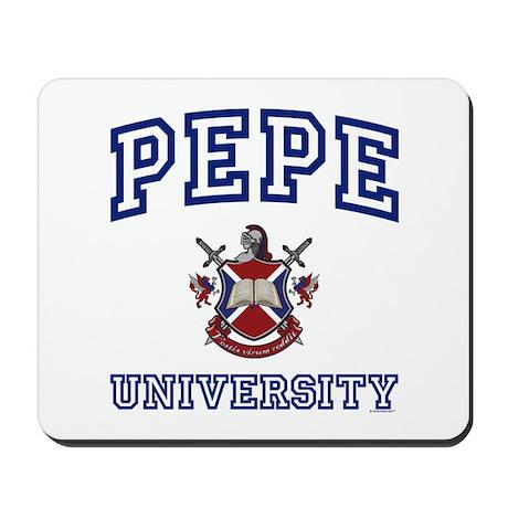 PEPE University Mousepad