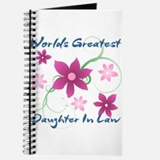 World's Greatest Daughter-In-Law (Flowery) Journal