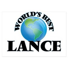 World's Best Lance Invitations
