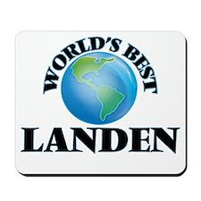 World's Best Landen Mousepad