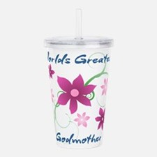 World's Greatest Godmo Acrylic Double-wall Tumbler