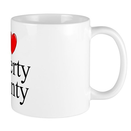 """I Love Liberty County"" Mug"