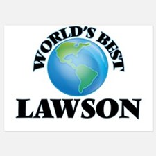 World's Best Lawson Invitations